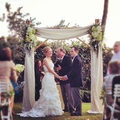 I can't explain the perfectness of this ceremony. #mzlwedding #naples #wedding - @weddingtidbits- #webstagram