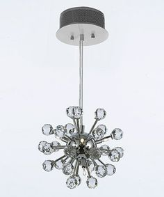 Another great find on #zulily! Modern Crystal Chandelier #zulilyfinds