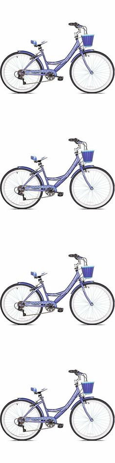 Bicycles 177831: 26 Women S Cruiser Bike Bicycle With Basket 7 Speed Adult Purple Comfort Seat -> BUY IT NOW ONLY: $125.99 on eBay!
