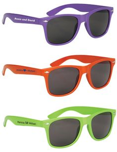 These polycarbonate sunglasses have solid color arms. They come in a wide variety of color to choose from, even translucent! Group Pictures, Carolina Blue, Kelly Green, One Color, Purple, Pink, Royal Blue, Great Gifts, Viola