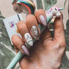 100 bonitas ideas de diseño de uñas de invierno 2019 - #bonitas #de #diseño #Ideas #invierno #uñas