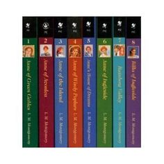 Anne of Green Gables series by L.M. Montgomery