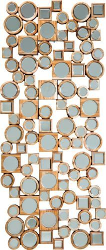 Spiegel-Wandspiegel-Haengespiegel-140x60cm-moderner-Holzspiegel-Neu-KARE-Design