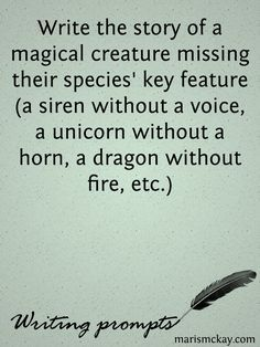 A unicorn without a horn could just be a horse lying to you.