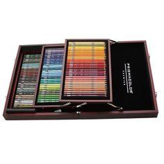 Prismacolor 96 Piece Wooden Box Set