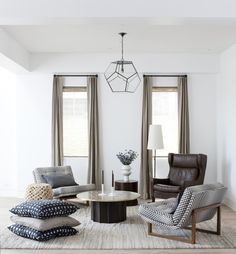 Organic warm modern decor by disc interiors - anne sage. My Living Room, Home And Living, Living Room Decor, Living Spaces, All Modern, Modern Decor, Modern Living, Modern Contemporary, Room Inspiration