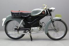 Eysink 1954 Renate 49cc 1 cyl ts Motorcycle Images, Motorcycle Design, Scooters, Motorized Bicycle, 50cc, Moto Guzzi, Classic Bikes, Vespa, Cars And Motorcycles