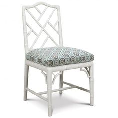 Chippendale Side Chair for small table in sunroom.