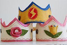 Crowns for Princes and Princesses felt