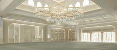 Al Ain - SH. Hamdan Mosque Interior Design Dubai, Interior Design Companies, Contemporary Architecture, Architecture Design, Design Package, Mosque Architecture, Big Houses, Bellisima, Design Projects