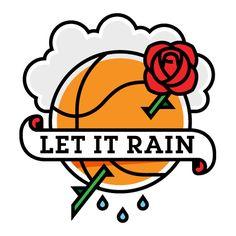 Portland Trailblazers-inspired tattoo design. Love me some NBA!