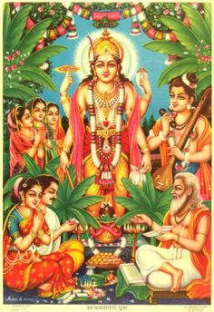 Dhanur Massa Special Ardhana, Poornima- Sri Satya Narayana Pooja. Dec 16 @ Parashakthi Temple.