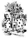 Alice In Wonderland  - get free, high quality alice in wonderland black and white clipart on clipartfest.com
