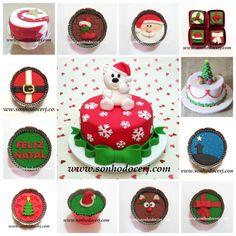 É Natal na Sonho Doce!  Mais modelinhos disponíveis no site!  curta nossa página no Facebook: www.facebook.com/sonhodocerj
