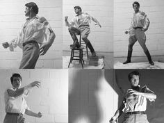 Collage of Doc Savage cover shoot reference photos.
