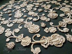 Irish Crochet - bolero 2/2