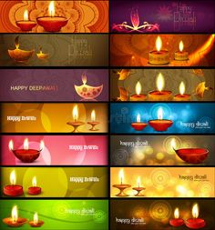 Happy Diwali Stylish Bright Colorful Collection Headers Set Stock Illustration - Illustration of card, drawn: 34491990 Happy Diwali Images, Festivals Of India, Diwali Decorations, Free Illustrations, Light Colors, Bright, Candles, Stock Photos, Headers