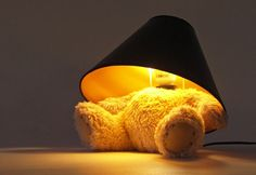 Teddy lamp