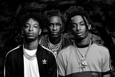 adidas Originals goes Crazy with 21 Savage, Playboi Carti and Young Thug Savage, Man Crush Monday, Hip Hop Art, Young Thug, Black And White Aesthetic, Film Aesthetic, Aesthetic Clothes, Going Crazy, Eminem