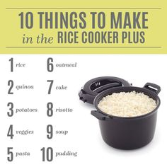Pampered Chef Rice Cooker. Not just for rice :)