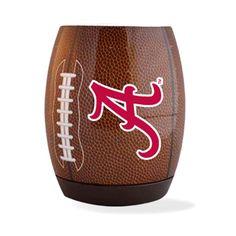 Alabama 'A' Logo Football Single Foam Flying Coozie