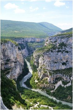 Gorges du Verdon in Provence, South of France #travel