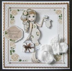 Yummy Mummy Emma Topper Mini Kit in Card Gallery Congratulations Baby, Handmade Cards, Handmade Gifts, Baby Prams, Yummy Mummy, Baby Books, Card Sentiments, Baby Shower Cards, Card Crafts
