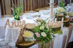 Dekoracje weselne. Motyw przewodni DREWNO | Od inspiracji do realizacji