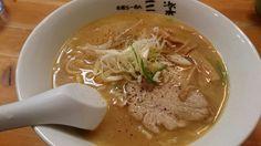 味噌ラーメン@秋田市、札幌らーめん三楽