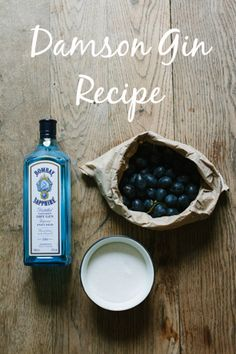 Damson Gin recipe