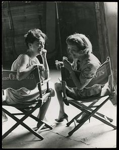 Joan Crawford & Bette Davis - two of the greatest