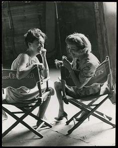 Joan Crawford & Bette Davis