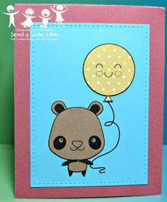 Karen's Kreative Kards: Punches and/or Die Cuts 4 Kids at Send a Smile 4 Kids