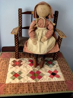 Doll quilt pattern...