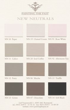 23 best Colourcard Painting the Past images on Pinterest | Color ...