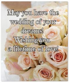 Browse our wonderful collection of wedding wishes, cards and congratulations wedding messages for the newly married couple. Wedding Greetings Message, Congratulations Wedding Messages, Wedding Wishes Messages, Birthday Wishes For A Friend Messages, Funny Wedding Cards, Wedding Quotes, Wedding Humor, Wedding Day, Wishes For Daughter