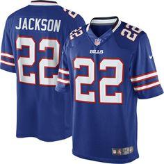 Nike Fred Jackson Buffalo Bills Limited Jersey – Royal Blue