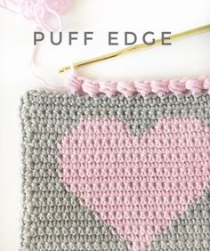 This sweet little edge finishes of a heart project perfectly, don't you think?  Here's how I made…