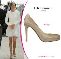 "I have these!  So fun to see ""my"" shoes on beautiful Kate Middleton.  Shoes are L.K. Bennett, London"
