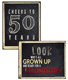 50th Birthday Decorations / 50th Birthday by partyprinters