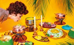 Betty Crocker's Absurd, Gorgeous Atomic-Age Creations  by: Maurizio Cattelan and Pierpaolo Ferrari