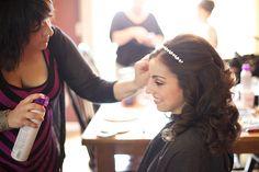 Real Bride Kristen | Hair by Nicole