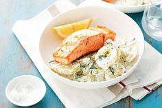 Just six simple ingredients is all that is needed to create this delicious weeknight salmon dinner.