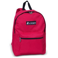 Medium Size Basic Backpack by Everest, School Backpack