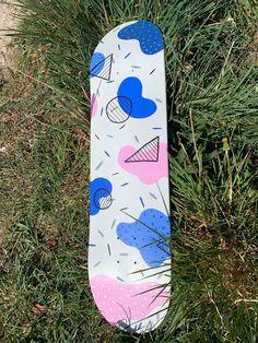 Painted Skateboard, Skateboard Deck Art, Penny Skateboard, Skateboard Design, Skateboard Girl, Custom Skateboard Decks, Custom Skateboards, Cool Skateboards, Longboard Design