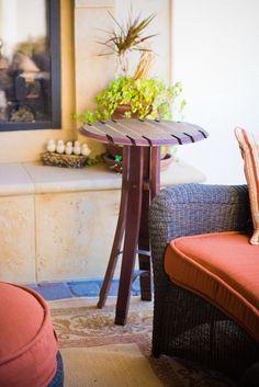 Table de Bistro haut de tonneau de vin