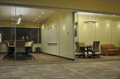glass partition walls modern designs