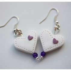 Cherry Earrings, fimo polymer clay | review | Kaboodle