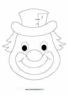 Palhaco Clown Crafts, Carnival Crafts, K Crafts, Preschool Crafts, Crafts For Kids, Circus Birthday, Circus Theme, Circus Party, Drawing For Kids