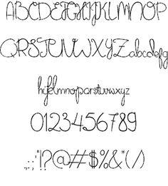 Alphabet Vatican Eighth Century | Fonts-logos-icons | Font ...